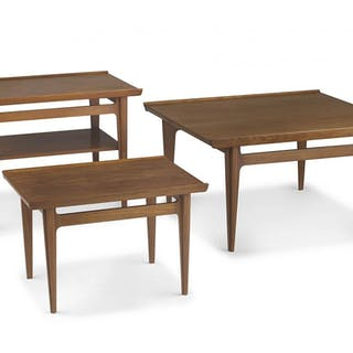 A Danish teak model 533 table designed in the 1960s by Finn Juhl for