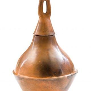 Simon (Molelekoa) Masilo; Ceramic Vessel with Stopper
