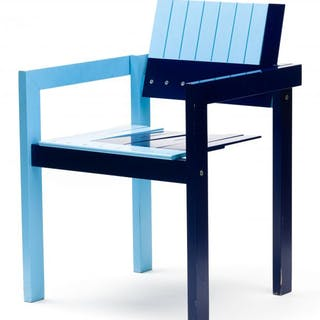 A Crate chair, 1982, designed by Bernt Petersen (Denmark 1937- ) for