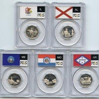2003 S Silver State Quarter Set PCGS PR69DCAM coin