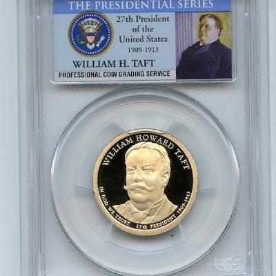 2013 S $1 William Howard Taft Dollar PCGS PR70DCAM coin