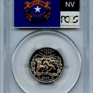 2006 S 25C Clad Nevada Quarter PCGS PR69DCAM coin