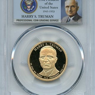 2015 S $1 Harry S Truman Dollar PCGS PR69DCAM coin
