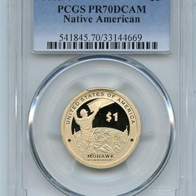 2015 S $1 Sacagawea Dollar PCGS PR70DCAM coin