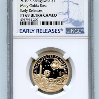 2019 S $1 Sacagawea Dollar NGC PF69UCAM Early Releases