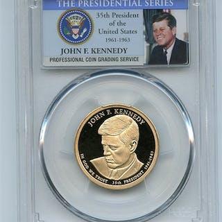 2015 S $1 John F Kennedy Dollar PCGS PR70DCAM