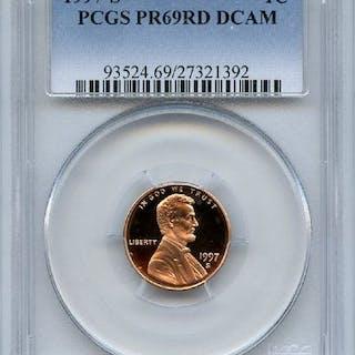 1997 S 1C Lincoln Cent Proof PCGS PR69DCAM