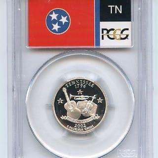 2002 S 25C Silver Tennessee Quarter PCGS PR70DCAM