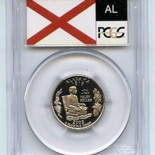 2003 S 25C Clad Alabama Quarter PCGS PR70DCAM