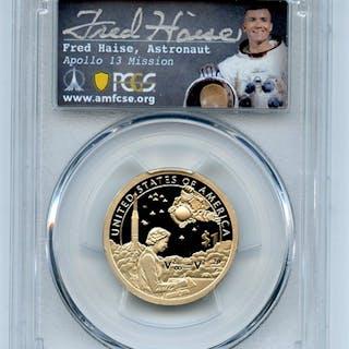 2019 S $1 Sacagawea Dollar PCGS PR70DCAM First Strike Fred Haise coin