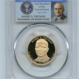 2015 S $1 Harry S Truman Dollar PCGS PR70DCAM