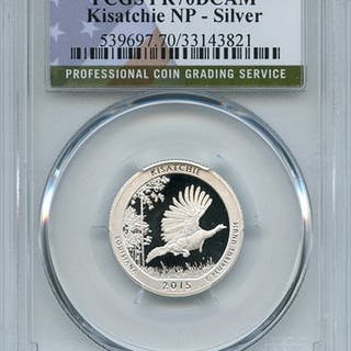 2015 S 25C Silver Kisatchie Quarter PCGS PR70DCAM