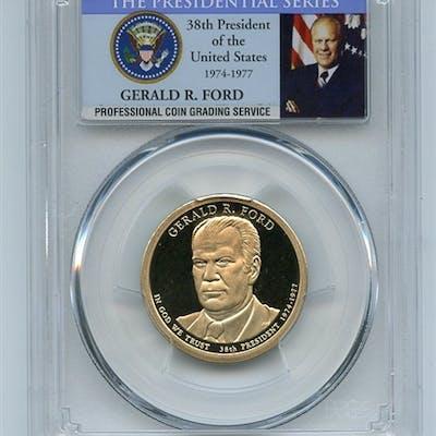 2016 S $1 Gerald Ford Dollar PCGS PR70DCAM coin