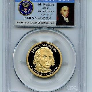 2007 S $1 James Madison Dollar PCGS PR70DCAM