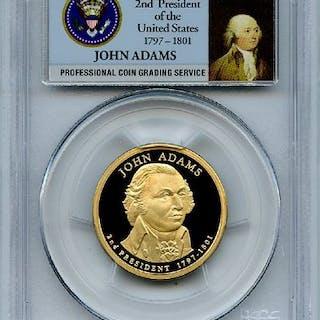 2007 S $1 John Adams Dollar PCGS PR70DCAM