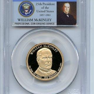2013 S $1 William McKinley Dollar PCGS PR70DCAM