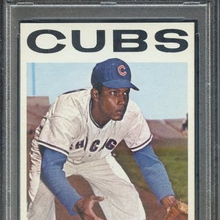 1964 TOPPS 336 ANDRE RODGERS PSA MINT 9