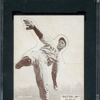 1934-36 BATTER UP 5 CARL HUBBELL SGC NM 84
