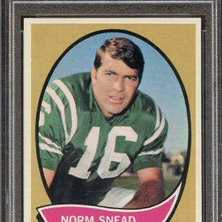 1970 TOPPS 115 NORM SNEAD PSA NM-MT 8