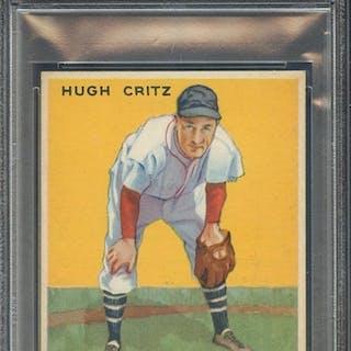 1933 GOUDEY 238 HUGH CRITZ PSA EX-MT 6