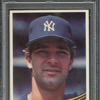 1984 DONRUSS 248 DON MATTINGLY RC PSA MINT 9