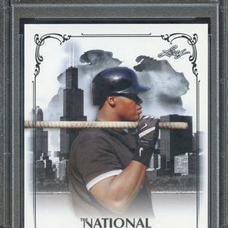 2013 LEAF NATIONAL CONVENTION VIP FT1 FRANK THOMAS PSA GEM MT 10