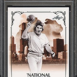 2013 LEAF NATIONAL CONVENTION VIP PR1 PETE ROSE PSA MINT 9