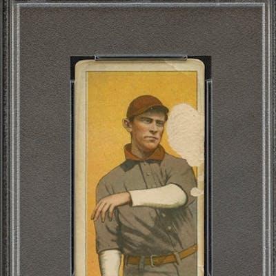 1909-11 T206 PIEDMONT 350 DANNY HOFFMAN ST. LOUIS PSA FR 1.5 coin