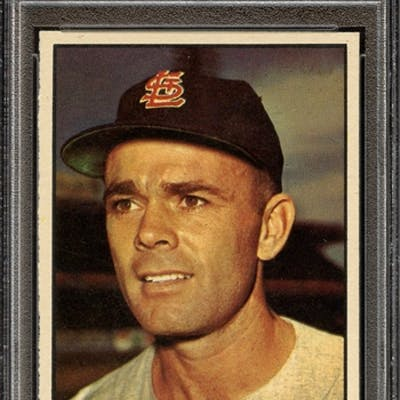 1961 TOPPS 549 HAL R. SMITH PSA NM+ 7.5 coin