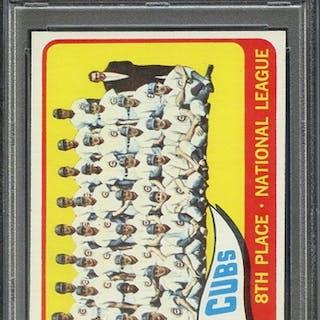 1965 TOPPS 91 CUBS TEAM PSA NM-MT 8 coin