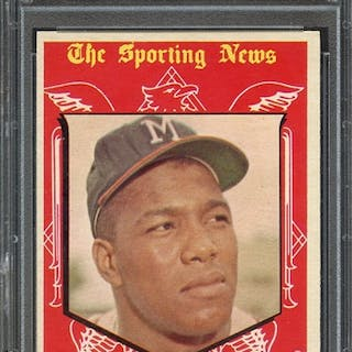 1959 TOPPS 565 WES COVINGTON ALL STAR PSA NM-MT 8 coin