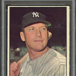 1961 TOPPS 300 MICKEY MANTLE PSA VG-EX 4 coin