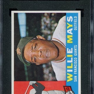 1960 TOPPS 200 WILLIE MAYS SGC NM-MT+ 8.5 coin