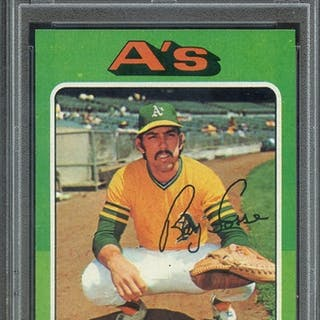 1975 TOPPS 486 RAY FOSSE PSA NM-MT 8 coin
