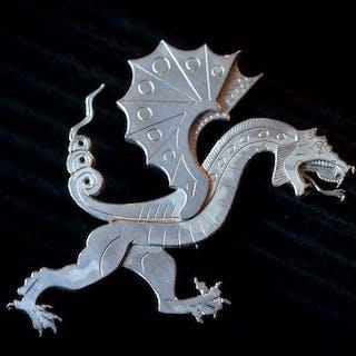 Brosch; Dragon