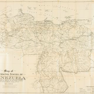 Americas.- South America.- Dalton (Leonard V.) Map of The United States