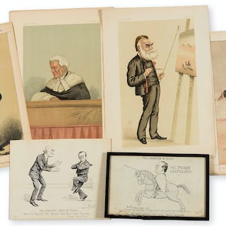 Caricatures.- Lloyd (Arthur Wynell) The Hornpiping Times of Peace: