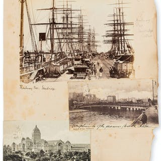 Australasia.- a small quantity, comprising albumen prints, postcards