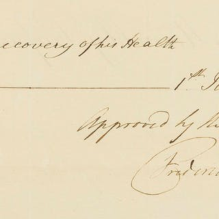 George III.- Frederick (Prince, Duke of York and Albany).- Petition