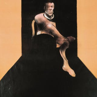 Francis Bacon (1909-1992) (after) Study for a Portrait of John Edwards;
