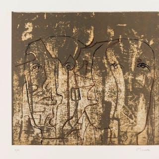 Henry Moore (1898-1986) The Observers (Cramer 626), Henry Moore (1898-1986)