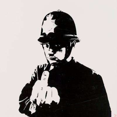 Banksy (b.1974) Rude Copper, Banksy (b.1974), Rude Copper