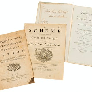 Economics & Parliamentary.- Some Considerations Upon Taxes, and Upon