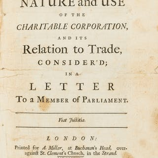 """Britannicus"". The Nature and Use of the Charitable Corporation, and"