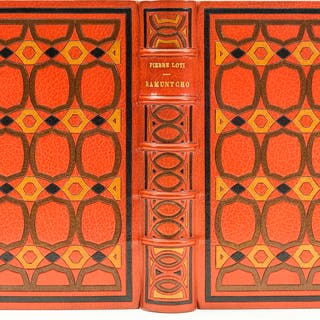 Binding.- Loti (Pierre) Ramuntcho, number 32 of 50 copies with a suite