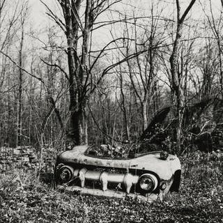 Walker Evans (1903-1975)  Untitled, (Abandoned Truck Parts), 1973