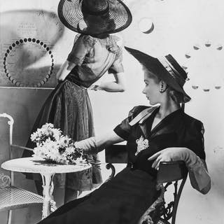 Horst P. Horst (1906-1999) Summer Hats, Fonssagrives (Lisa) & Lane