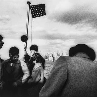 William Klein (b.1928) Staten Island Ferry, New York, 1955, William
