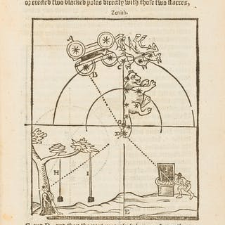 Sundials.- Blagrave (John) The Art of Dyalling in two Parts, 1609.