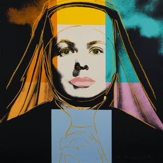 Andy Warhol (1928-1987) Ingrid Bergman. The Nun (Feldman & Schellmann